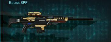 Sandy scrub sniper rifle gauss spr