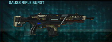 Woodland assault rifle gauss rifle burst