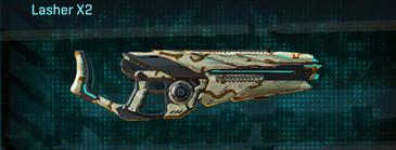 California scrub heavy gun lasher x2