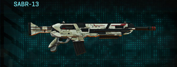 Indar dry ocean assault rifle sabr-13