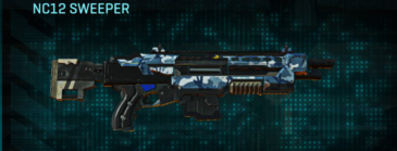 Nc urban forest shotgun nc12 sweeper