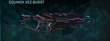 Vs zebra assault rifle equinox ve2 burst