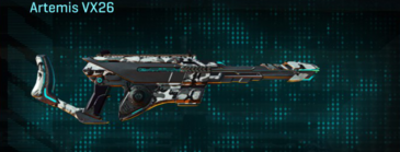 Forest greyscale scout rifle artemis vx26