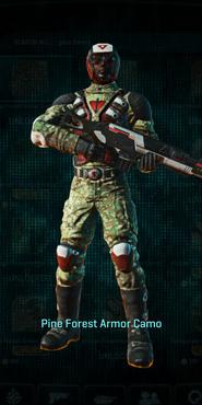 Tr pine forest combat medic