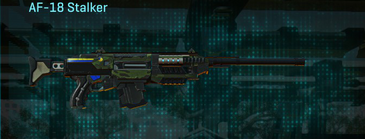 Amerish leaf scout rifle af-18 stalker