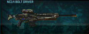 Woodland sniper rifle nc14 bolt driver