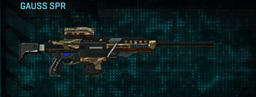 Indar dunes sniper rifle gauss spr