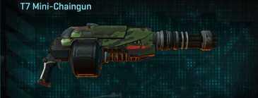 Amerish leaf heavy gun t7 mini-chaingun