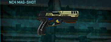 Palm pistol nc4 mag-shot