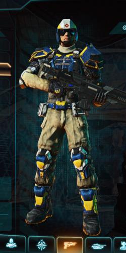 Nc composite armor combat medic