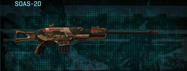 Indar rock scout rifle soas-20