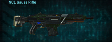 Clover assault rifle nc1 gauss rifle