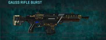 Indar highlands v1 assault rifle gauss rifle burst