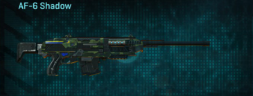 Amerish forest scout rifle af-6 shadow