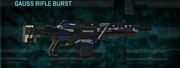Nc patriot assault rifle gauss rifle burst