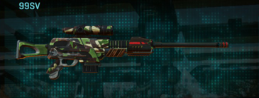 African forest sniper rifle 99sv