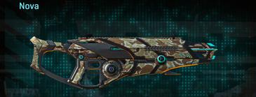Arid forest shotgun nova
