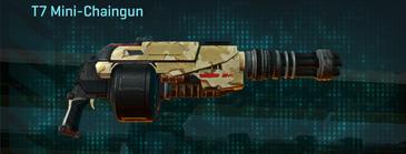 Sandy scrub heavy gun t7 mini-chaingun