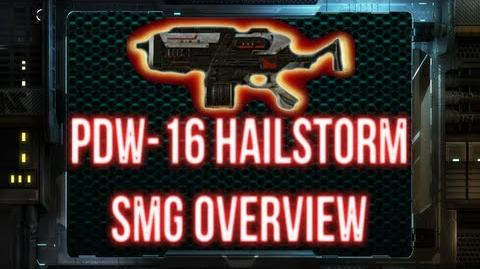 Planetside 2 - PDW-16 Hailstorm Weapon Overview TR SMG REDONE-0