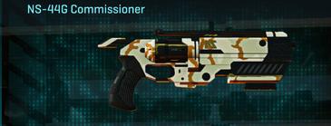 California scrub pistol ns-44g commissioner