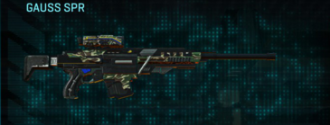 Scrub forest sniper rifle gauss spr