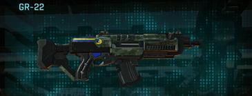Amerish brush assault rifle gr-22
