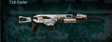 Esamir snow assault rifle t1b cycler