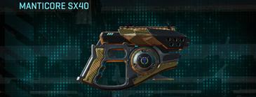 Indar dunes pistol manticore sx40