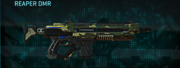 Temperate forest assault rifle reaper dmr