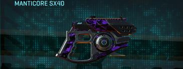 Vs digital pistol manticore sx40