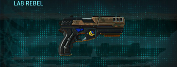 Indar rock pistol la8 rebel