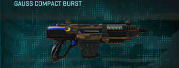 Indar rock carbine gauss compact burst