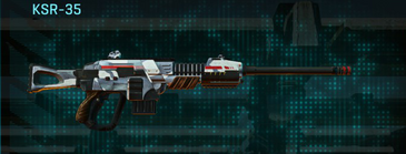 Esamir ice sniper rifle ksr-35