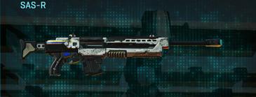 Rocky tundra sniper rifle sas-r