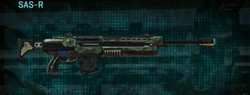 Amerish brush sniper rifle sas-r