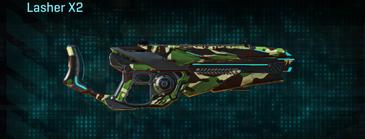 African forest heavy gun lasher x2