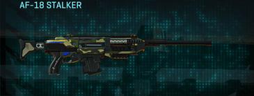 Temperate forest scout rifle af-18 stalker
