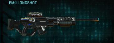 Snow aspen forest sniper rifle em4 longshot