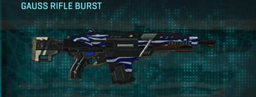 Nc zebra assault rifle gauss rifle burst