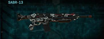 Indar dry brush assault rifle sabr-13