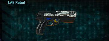 Forest greyscale pistol la8 rebel