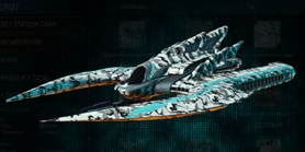 Forest greyscale scythe