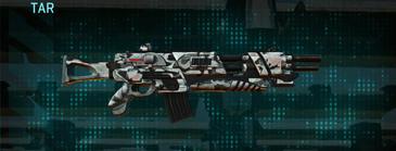 Forest greyscale assault rifle tar