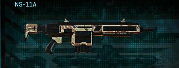 Arid forest assault rifle ns-11a