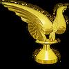 Gold Wings Hood Ornament