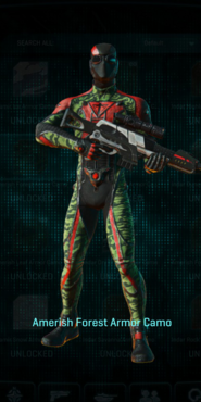 Tr amerish forest infiltrator