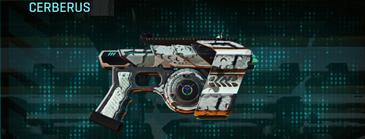 Rocky tundra pistol cerberus