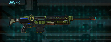 Jungle forest sniper rifle sas-r