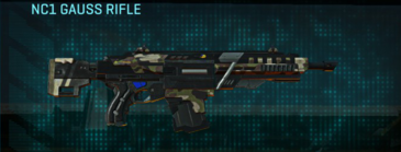 Woodland assault rifle nc1 gauss rifle
