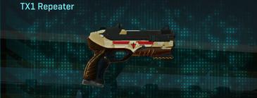 Sandy scrub pistol tx1 repeater